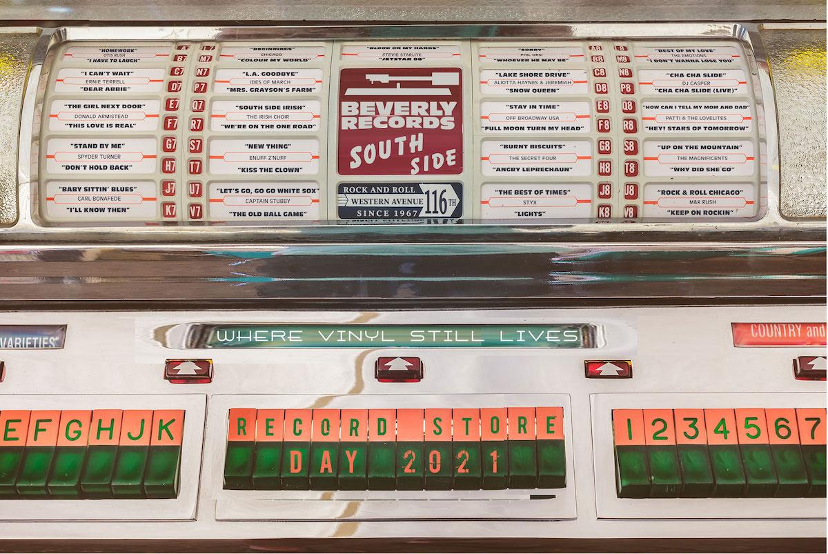 Beverly Records juke box